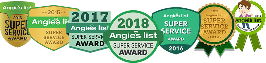 Angie's List: 7 Years of Super Service Awards